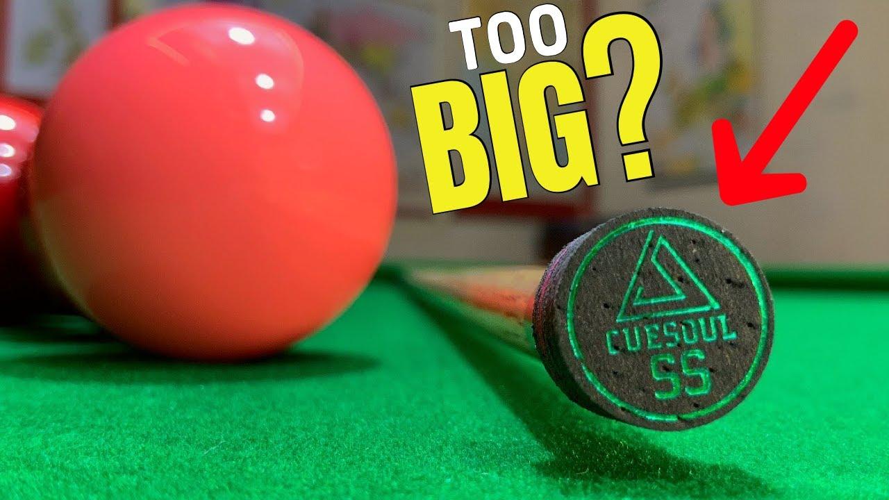 Snooker Cue Tips Weird But Good
