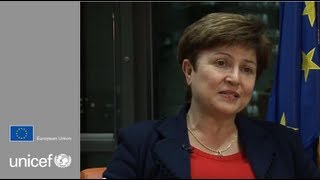 European Union Commissioner for Humanitarian Aid Kristalina Georgieva
