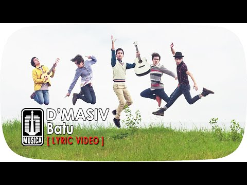D'MASIV - Batu (Official Lyric Video)