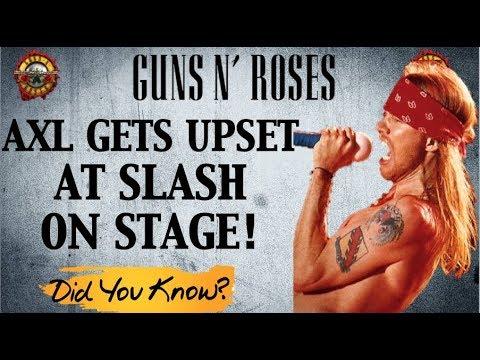 Guns N' Roses: True Story Behind the Time Axl Rose Got Upset at Slash Mp3
