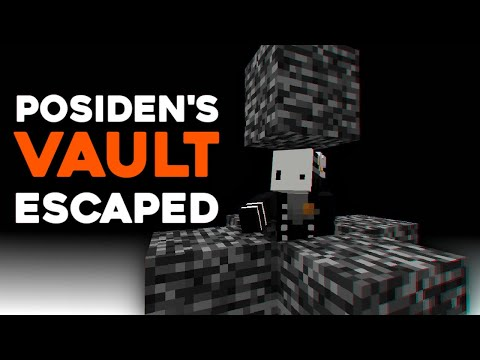 Escaping Minecraft's Most Secure Prison (poseidon's vault) - MythrodakTV