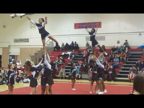 Pikesville Panthers Varsity @ Patapsco High Competition 1/10/17