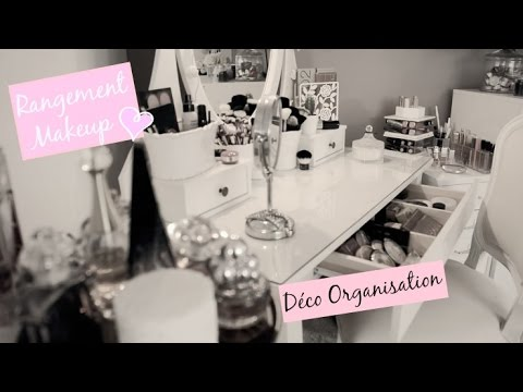 rangement maquillage parfum astuce d coration youtube. Black Bedroom Furniture Sets. Home Design Ideas