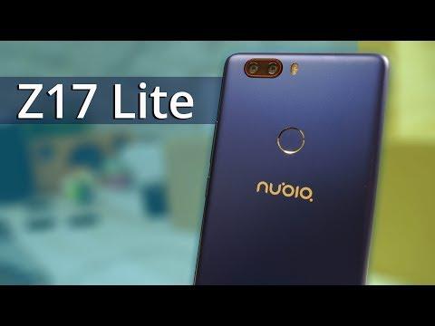 SIN BORDES laterales en pantalla, review del NUBIA Z17 Lite