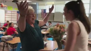 VIDEO: A Harvard graduate invites her elementary school teacher to her graduation