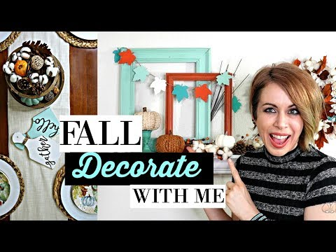 FALL FARMHOUSE DECORATE WITH ME | 3 DIY's INCLUDED!
