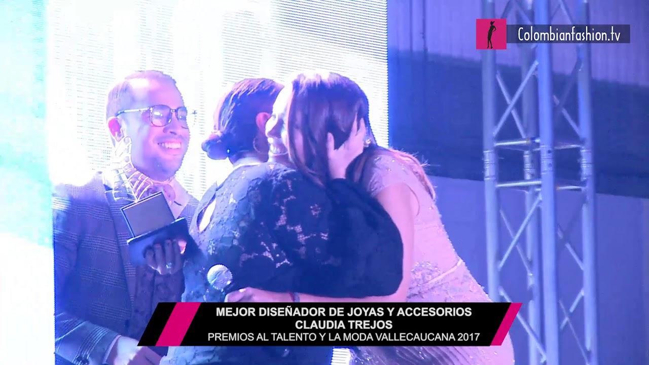 Mejor Diseñador de joyas y accesorios - Claudia Trejos - Premios al Talento y la Moda Vallecaucana