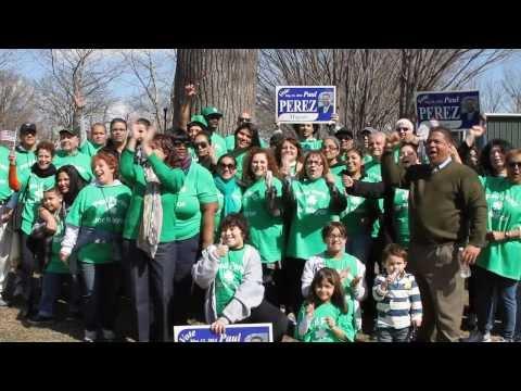 Paul Perez at St. Patrick's Parade in Trenton NJ