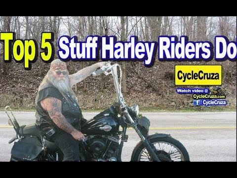 Riding hard factory video