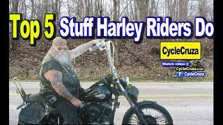 Top 5 Stupid SHIT Harley Davidson Riders Do | MotoVlog