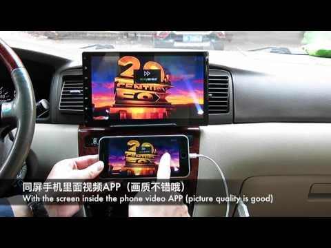Apple IOS/Android Carplay/Airplay/Video/ Mirabox Wi-Fi mirror car adapter