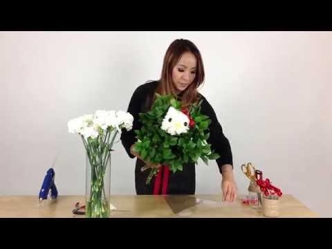 DIY Hello Kitty Flowers