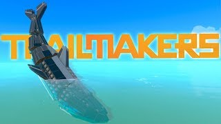 Trailmakers - Underwater Vehicles - Submarine Blocks & Submarine Creations - Trailmakers Gameplay