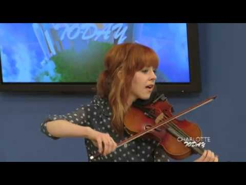 "Charlotte Today - Lindsey Stirling With ""Take Flight"""