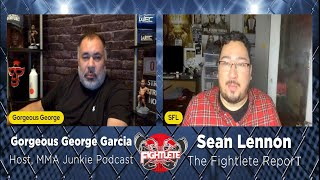 Talking Shop with Gorgeous George Garcia UFC 257 Predictions and More!