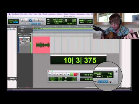 Pro Tools in PJ's - Recording Audio 2 - Intro to Playlists
