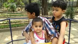 Jainam, charar charar maru chakdol chale at Nehru Science Centre