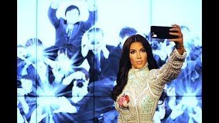 Ким Кардашян похвасталась соблазнительными снимками в бикини