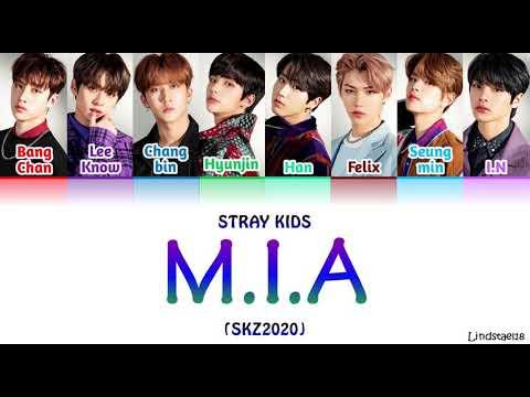 "Download Stray Kids ""M.I.A"" (SKZ2020) colorcodedlyrics [Han-Rom-Eng]"