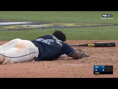 Rays Win Game 4 on Walkoff Error by Dodgers | 2020 MLB World Series