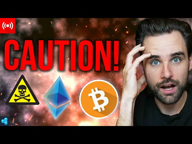 🔴LIVE: You MUST Be Careful in Crypto Right Now!