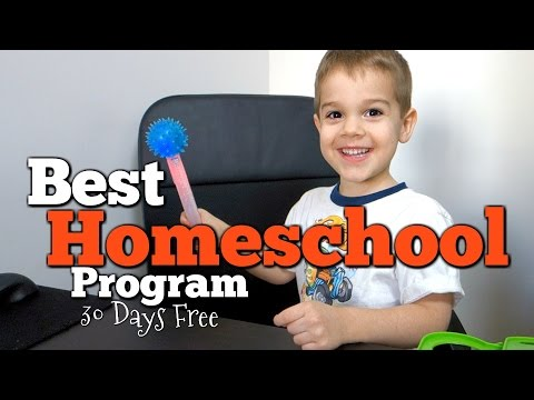 Homeschool Learning Fun For Ages 2-7 BEST Computer Based Home School Program