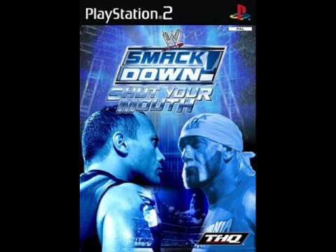 Wwe smackdown shut your mouth caw