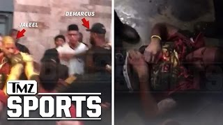 DeMarcus Cousins Brother Tased In Club Fight, DeMarcus Pulled From Melee (New Video) | TMZ Sports