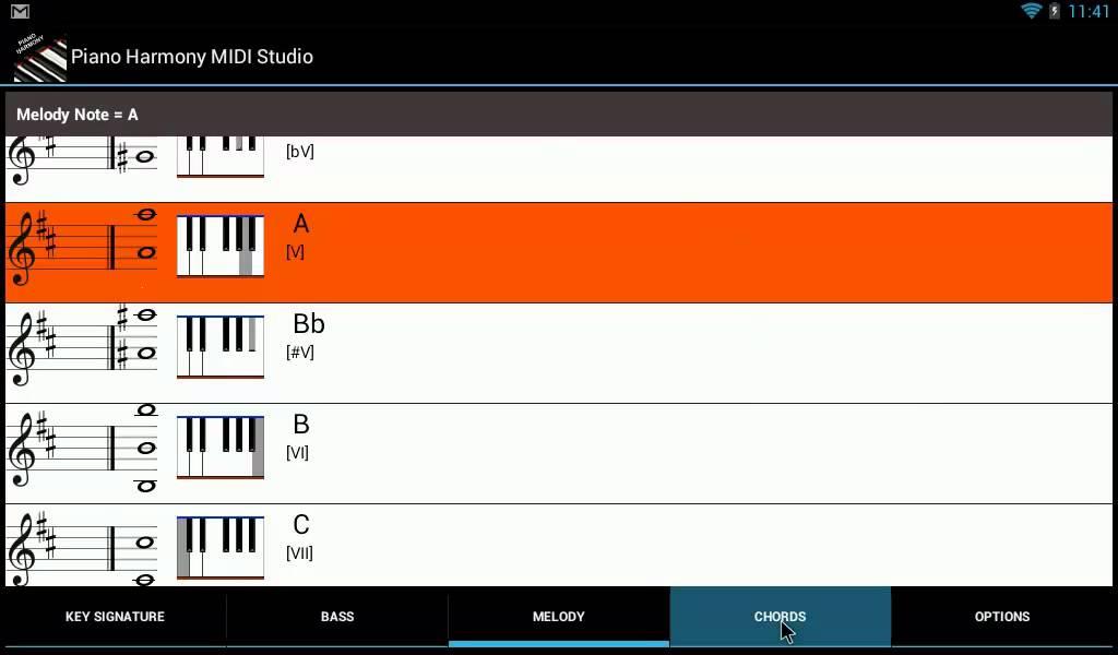 f9695f14c43 Tutorial: Piano Harmony Midi Studio Pro Android Introduction - YouTube