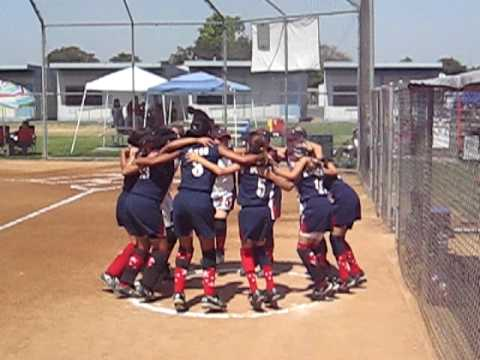 Santa Monica Girls 10U Gold Still Getting Pumped Up!