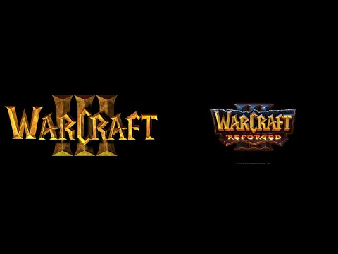Warcraft 3 Vs Reforged - The Prophecy Cinematic Comparison