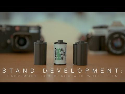Stand Development: Easy-Mode For Black And White Film