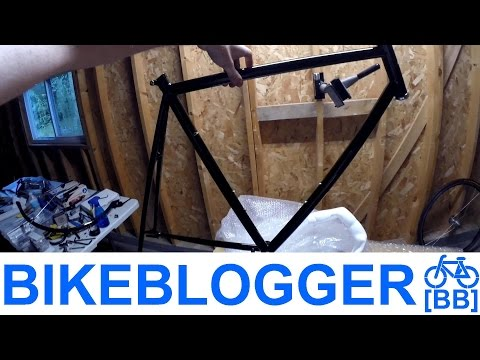 Unboxing & backflipping my new Mango bikes single speed!!
