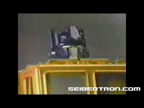 Transformers G1 commercial 1984 - Optimus Prime, Seekers, and more!