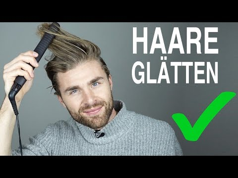 Single manner mit langen haaren