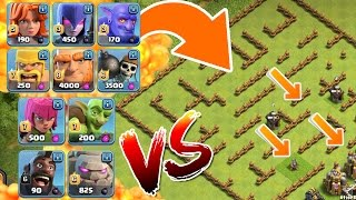 EINE TRUPPE vs. TODES LABYRINTH! || CLASH OF CLANS || Let's Play CoC [Deutsch/German]
