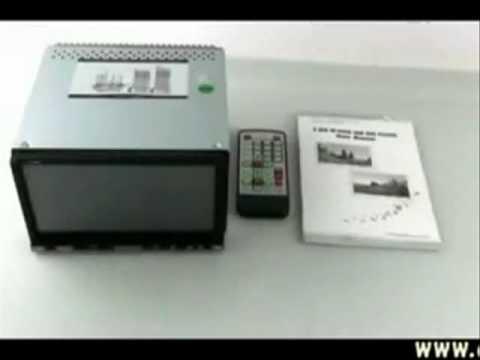 "7"" Touch Screen DVD/CD/SD/USB/TV/FM Car Player - 2 DIN"