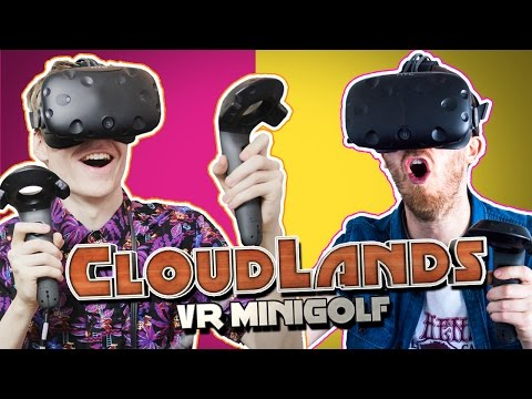 FUNNY MULTIPLAYER MOMENTS   Cloudlands VR Minigolf (HTC Vive Gameplay)
