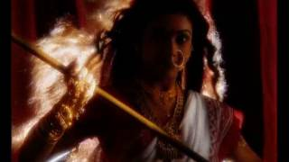 Promo for a daily soap (Durga) on a Regional GEC