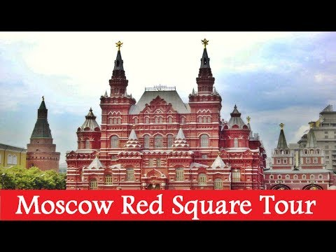 Russian Travel Documentary: Video Tour of Moscow Red Square, Beautiful Scenes