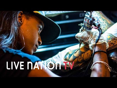 Tour, Tattoos, and the Macabre: Stylings with Angel Haze