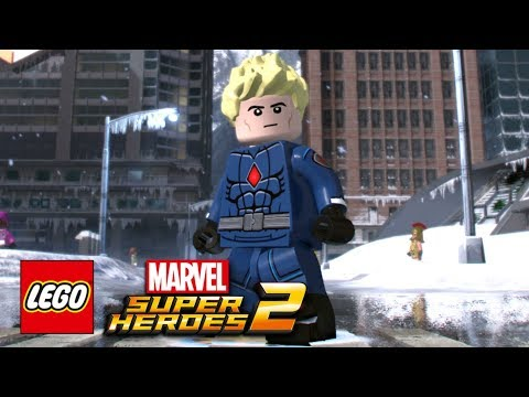 LEGO Marvel Super Heroes 2 - How To Make The Human Torch (Johnny Storm)