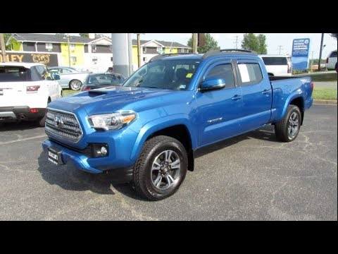 2016 Toyota Double Cab TRD Sport Walkaround, Start up, Tour and Overview