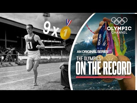9 x Gold in 1 Games! Finland's Middle Distance Runner Paavo Nurmi | The Olympics On The Record