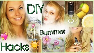 DIY SUMMER HACKS | Beachwaves, Peeling....| Mit einfachCindy