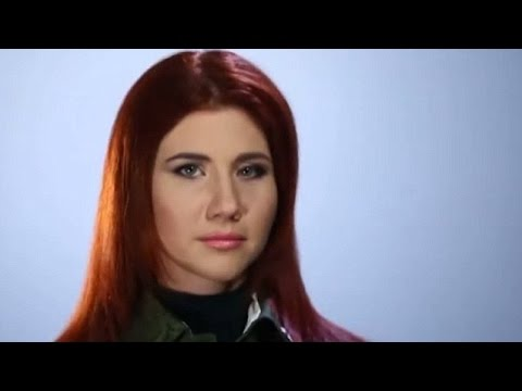 Anna Chapman In Uniform As She Visits Russian Tank Division