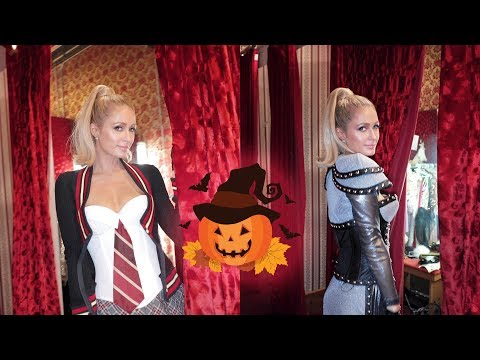Trying on Halloween Costumes with Paris Hilton