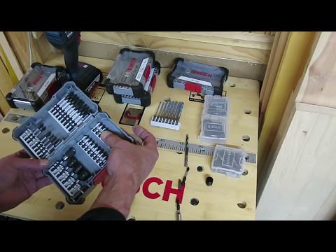 Видео обзор: Набор оснастки BOSCH профессиональной Impact Control: биты,держатели и торц.ключи