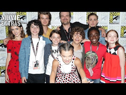 Stranger Things | San Diego Comic-Con Interviews and Panel Highlights