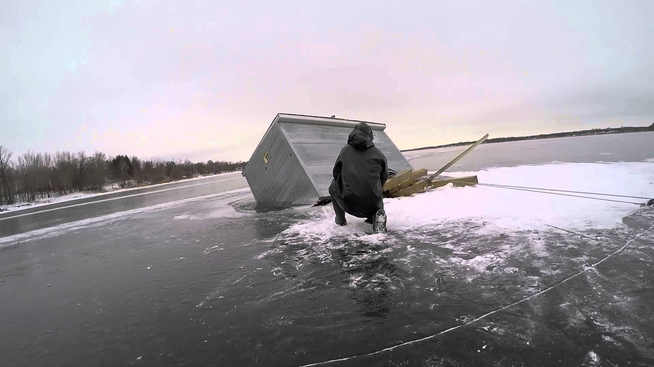 Ice house sinks retrieval